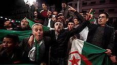 Президент Алжира попрощался со страной