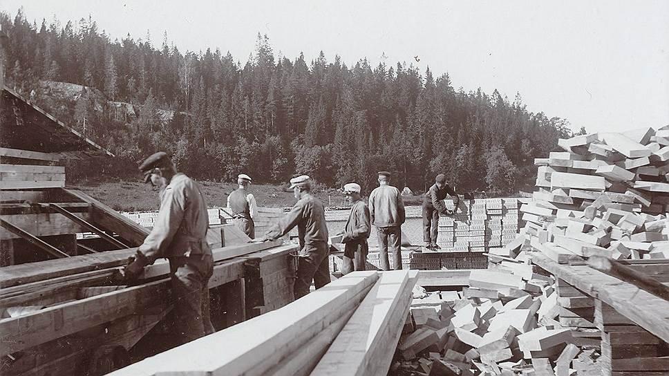Директора шведских лесопильных заводов ценили русских работников за трудолюбие и сметливость