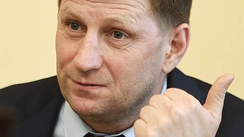 Сергей Фургал обнаружил информационную кампанию против себя  / Хабаровский губернатор обвинил чиновников в дискредитации