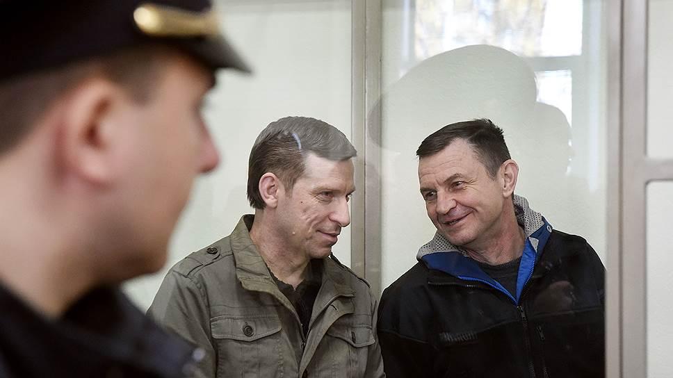 Алексей Бессарабов и Владимир Дудка (справа)