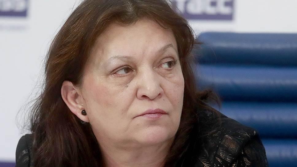 Председатель совета Всероссийской организации родителей детей-инвалидов Елена Клочко