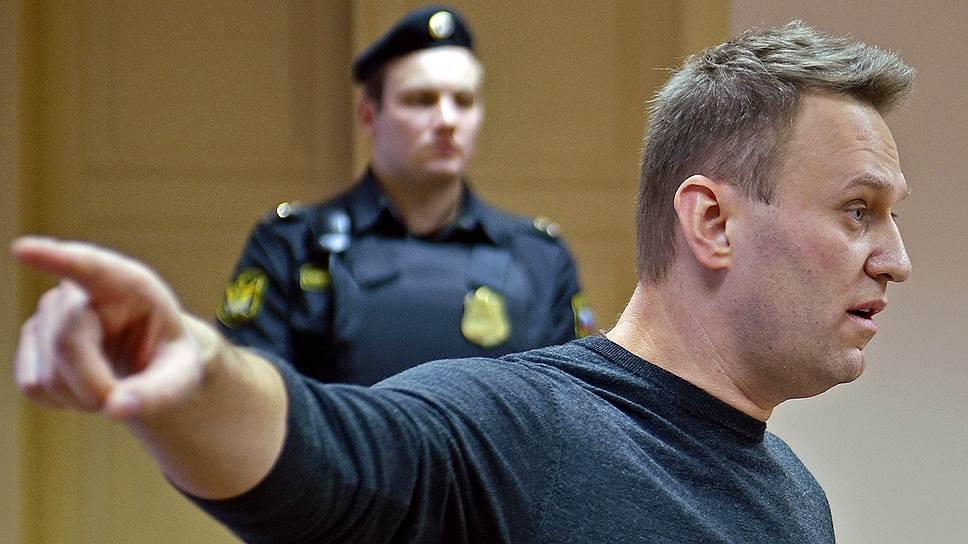 Глава «Фонда борьбы с коррупцией» Алексей Навальный