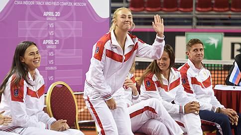 Встреча без лидеров // Матч Кубка федерации по теннису Россия—Италия начнется без первых номеров