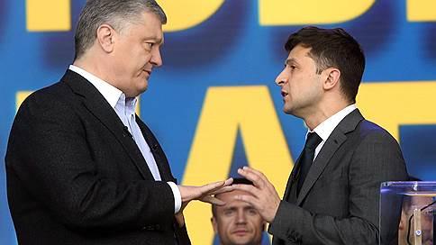Порошенко vs Зеленский  / Как прошли дебаты кандидатов в президенты Украины