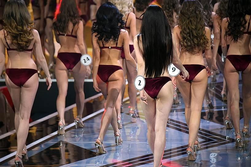 13 апреля, Барвиха, Московская область. Финал конкурса «Мисс Россия-2019» в концертном зале «Барвиха Luxury Village»