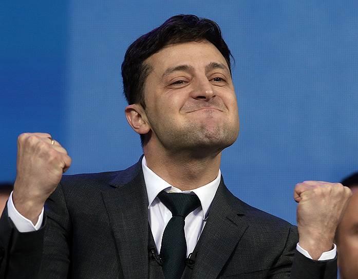 19 апреля, Украина. На тот момент кандидат в президенты страны Владимир Зеленский во время дебатов с действующим главой государства Петром Порошенко