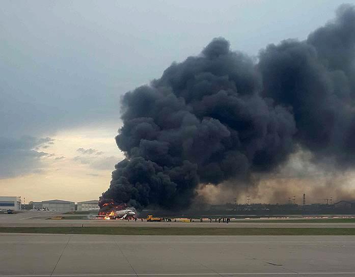 В результате пожара погиб 41 человек