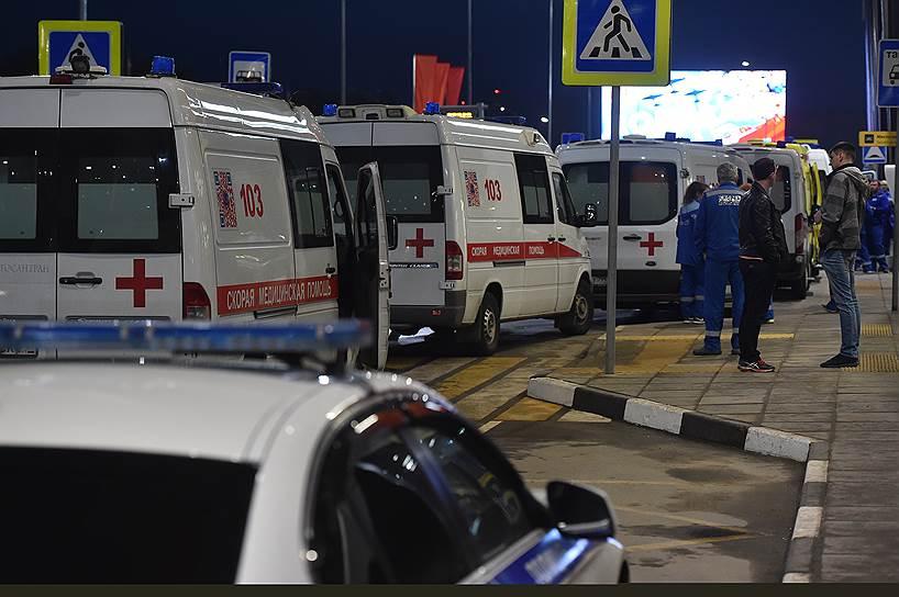 Пострадавшие были доставлены в московские больницы и лечебные учреждения города Химки