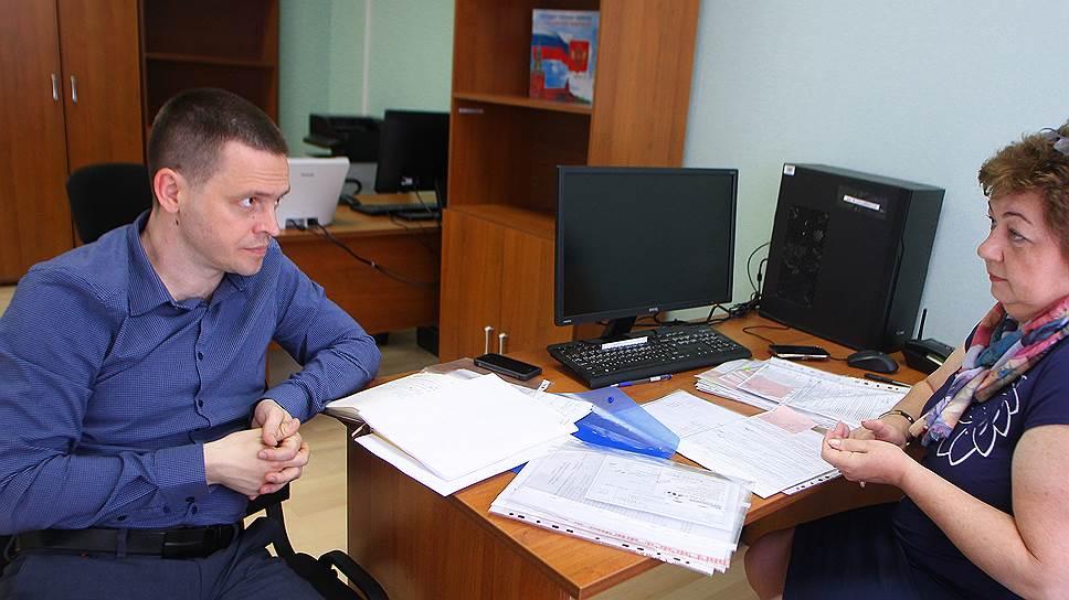 Замначальника миграционной службы МВД Луганской народной республики Руслан Найда