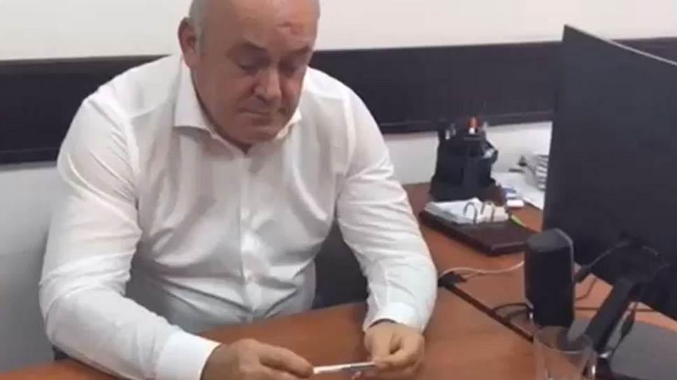 Депутат Народного собрания Дагестана Раджаб Абдулатипов