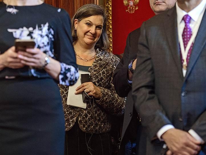 Бывший помощник госсекретаря США по делам Европы и Евразии Виктория Нуланд