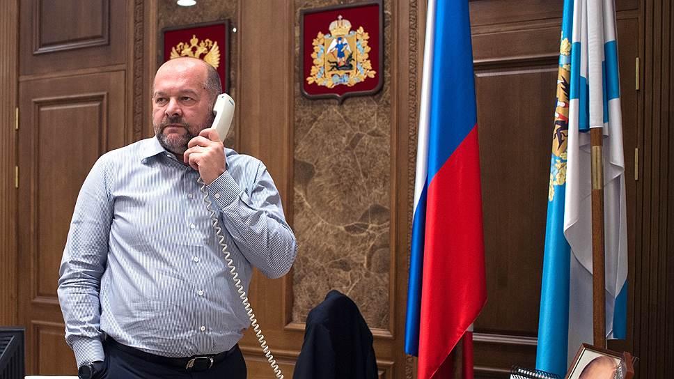 Губернатор Архангельской области Игорь Орлов о планах на Шиес и выборы