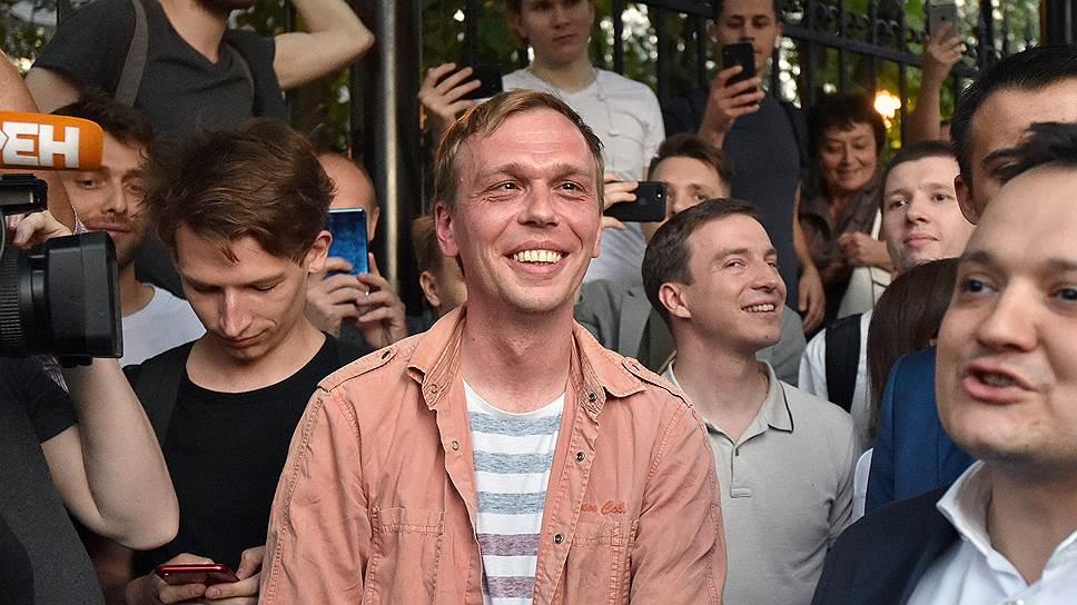 Специальный корреспондент отдела расследований «Медузы» Иван Голунов