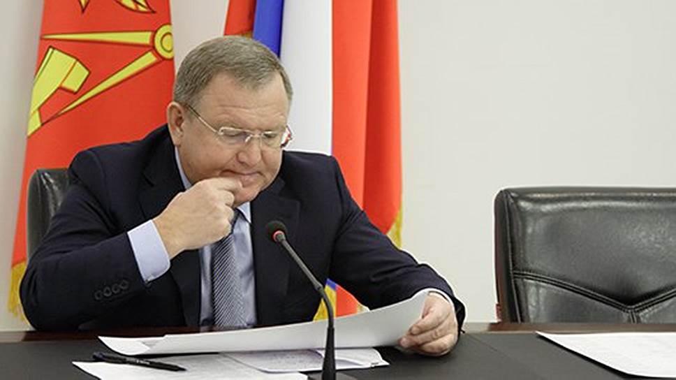 Глава Пушкинского муниципального района Московской области Евгений Жирков