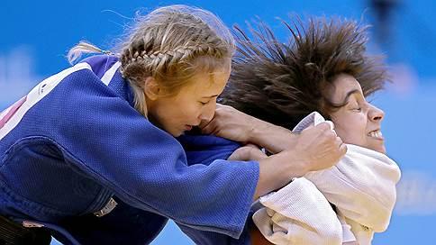 На пьедестале только девушки  / Золото и два серебра завоевали российские дзюдоистки в первый день чемпионата Европы в Минске