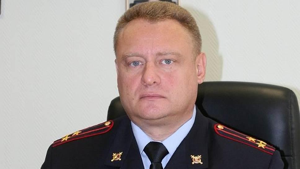 Заместитель начальника УВД по Западному округу Москвы полковник Игорь Петухов