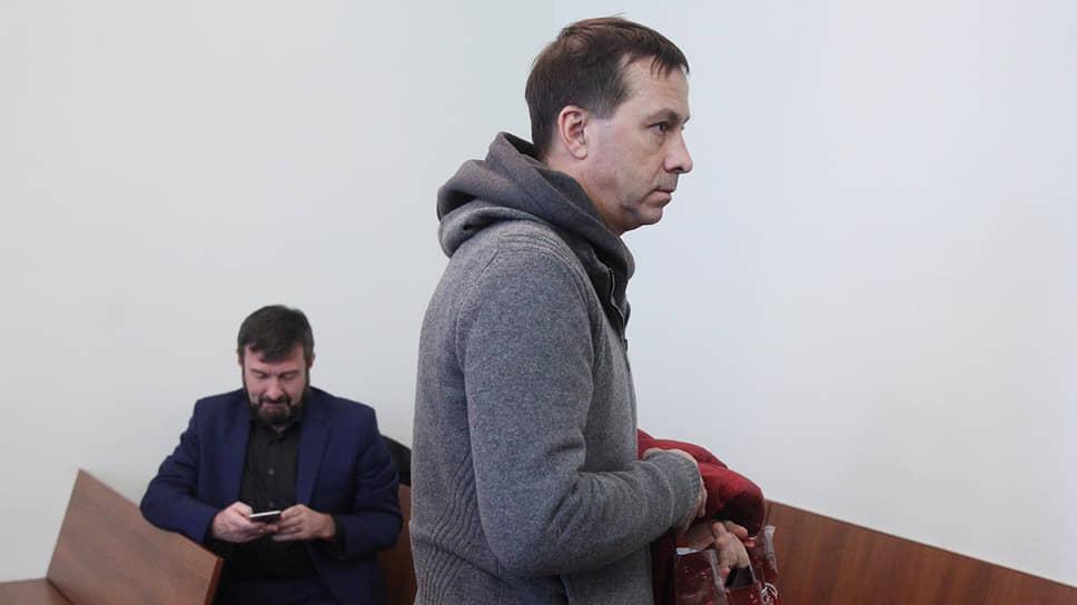 Покойный лидер нижегородского отделения «Справедливой России» Александр Бочкарев (справа) и политтехнолог Сергей Воронов