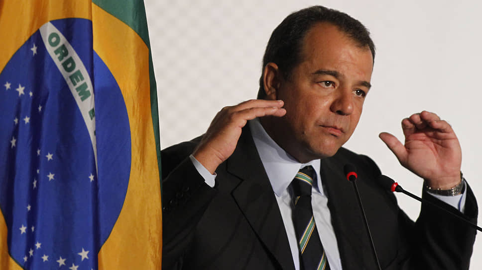 Экс-губернатор Рио-де-Жанейро Сержиу Кабрал