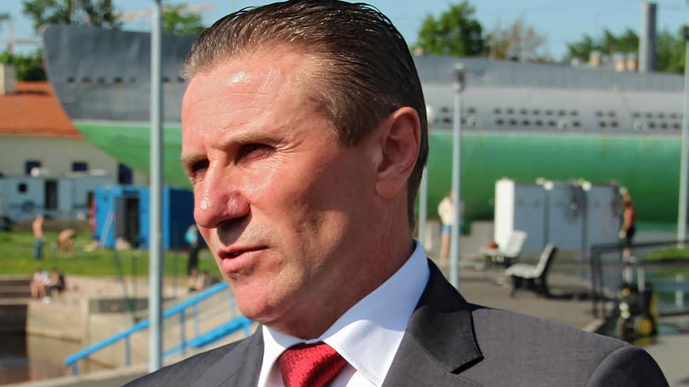 Член МОК и президент Олимпийского комитета Украины Сергей Бубка
