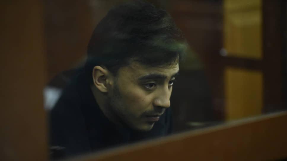 Подсудимый Махамадюсуф Мирзаалимов