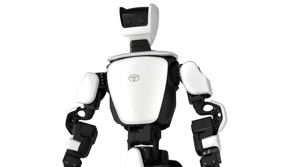Робот-гуманоид T-HR3 сможет взаимодействовать с людьми, а также передавать изображения и звуки с мероприятий посетителям