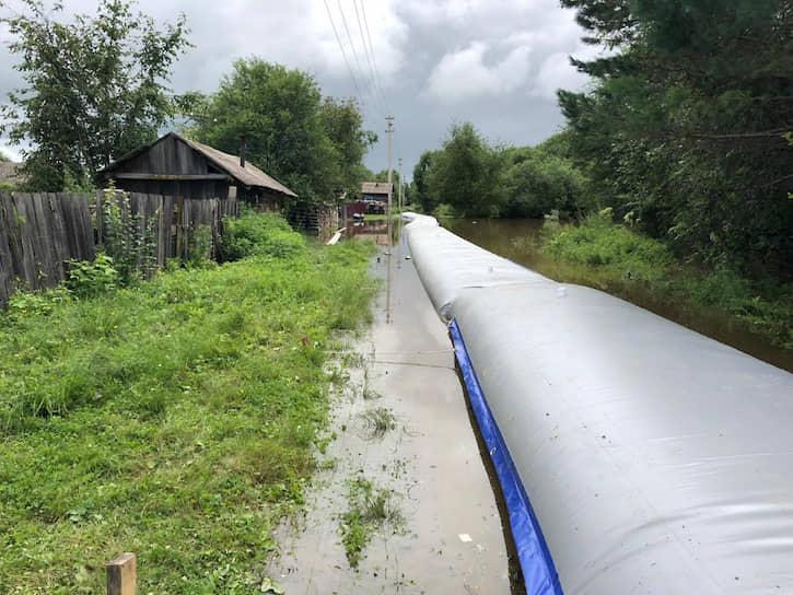 По состоянию на утро 29 июля на территории Амурской области подтоплено 646 частных жилых домов