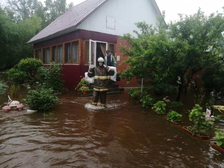 В минувшие выходные в регионе началась вторая волна паводка