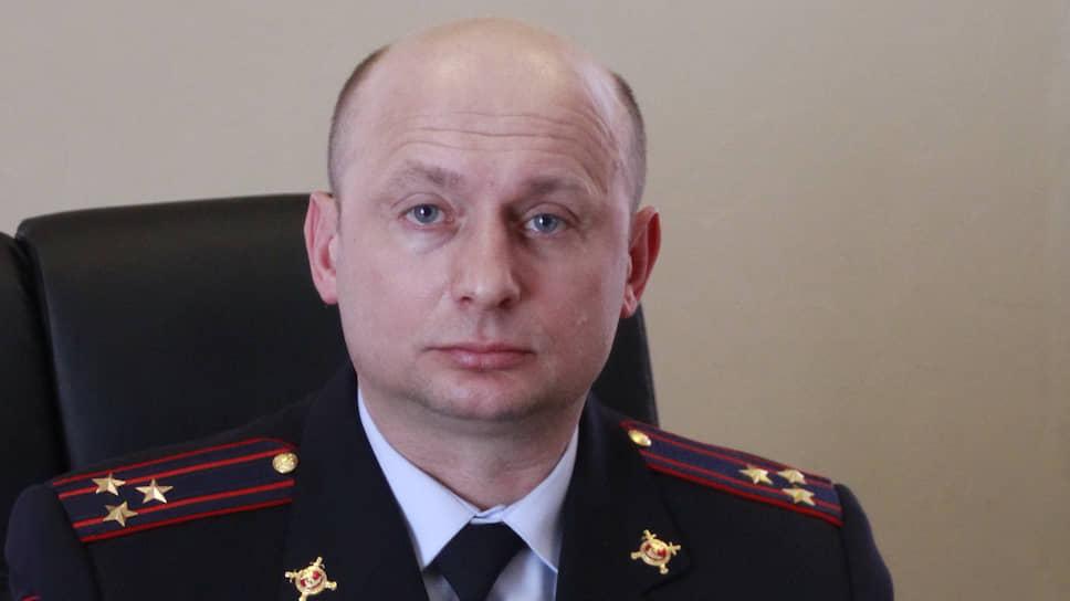 Полковник полиции Андрей Миляев