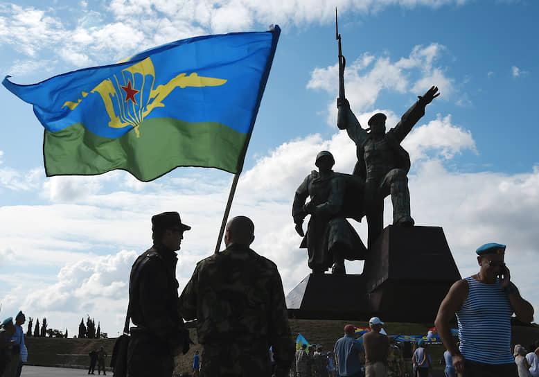Празднование Дня ВДВ в Севастополе