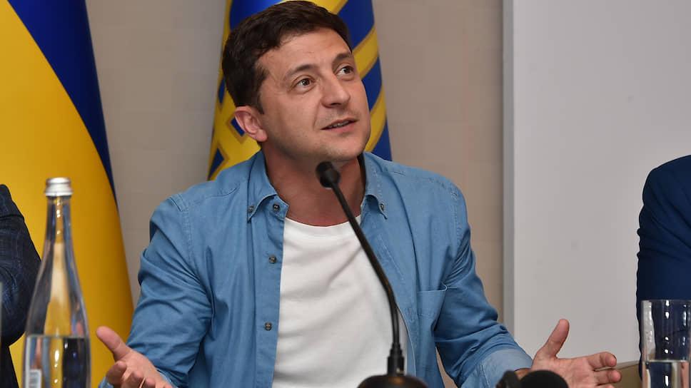 """Владимир Зеленский рассказал """"Ъ"""", когда может состояться саммит в нормандском формате"""