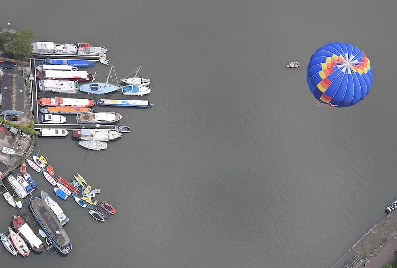 Бристоль, Великобритания. Ежегодный фестиваль воздушных шаров