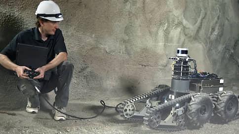 Битва роботов под землей