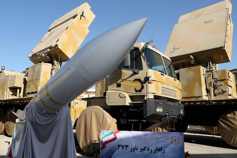 Тегеран, Иран. Презентация нового зенитно-ракетного комплекса «Бавар-373»