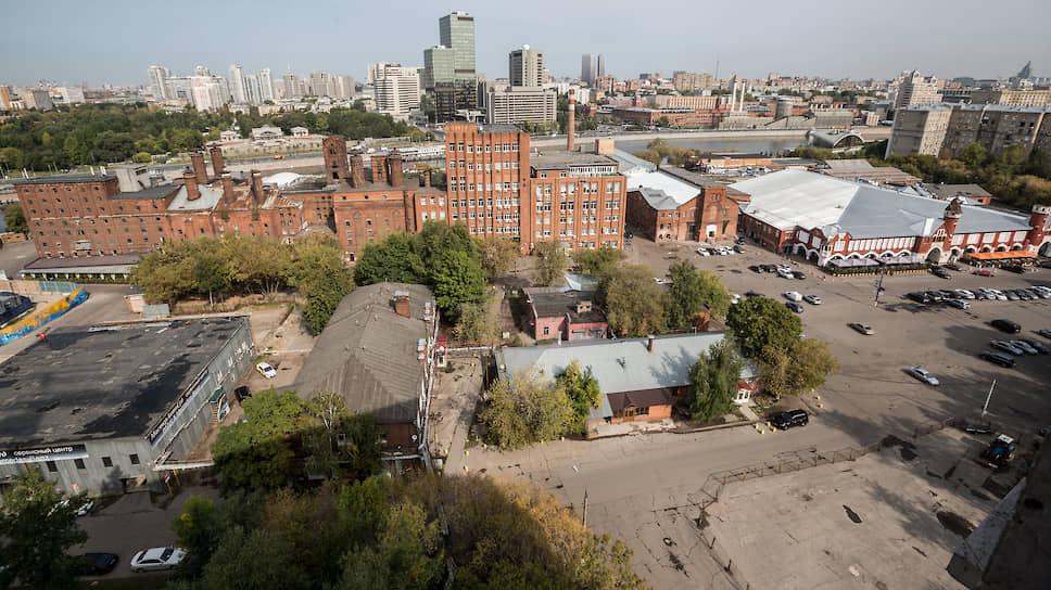 Бадаевский пивоваренный завод в Дорогомилово
