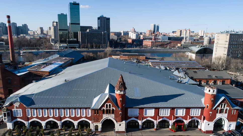 Исторические корпуса бывшего Бадаевского пивоваренного завода в Дорогомилово