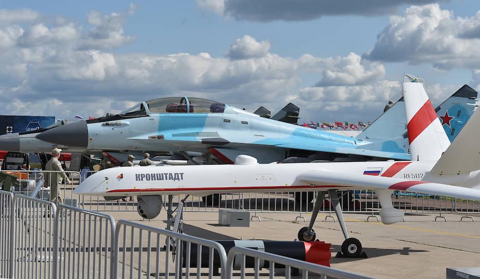 Беспилотный летательный аппарат тяжелого класса, созданный АО «Кронштадт» для гражданского применения