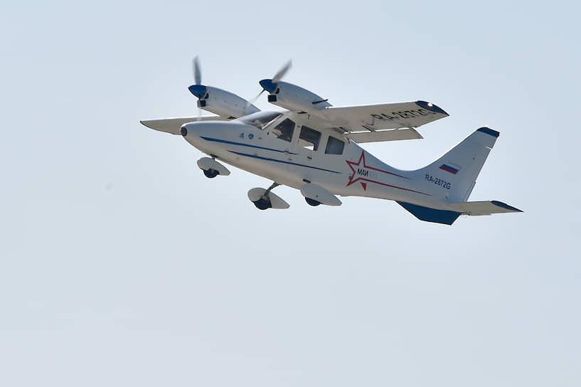 Многоцелевой четырехместный самолет МАИ-411