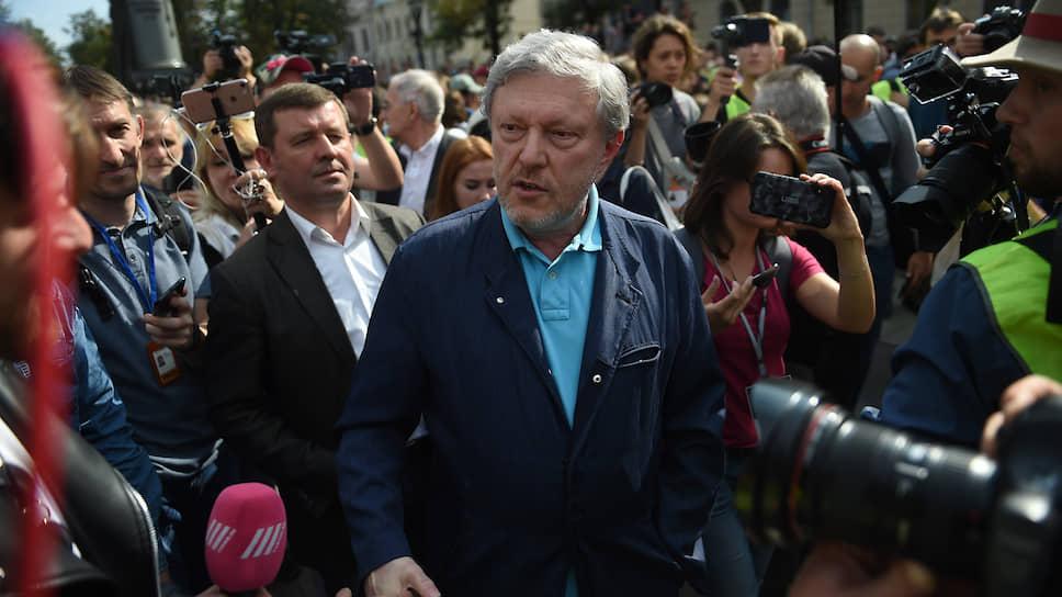 Политик Григорий Явлинский