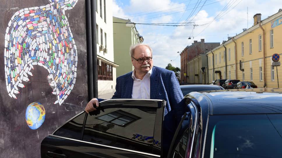 Экс-кандидат в губернаторы Санкт-Петербурга Владимир Бортко