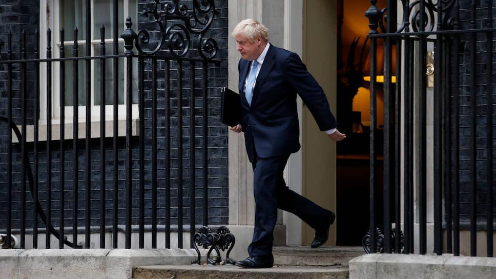 Британский премьер-министр Борис Джонсон