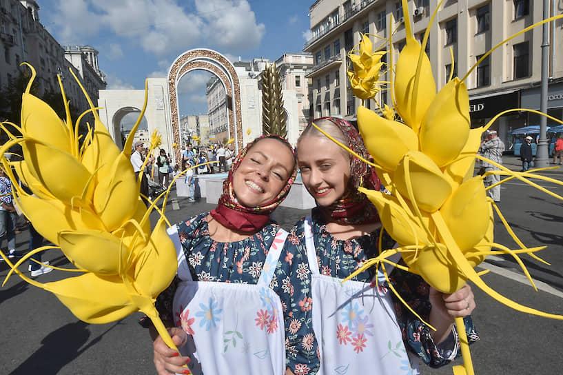 Главной темой праздника стал юбилей ВДНХ, которой в этом году исполнилось 80 лет