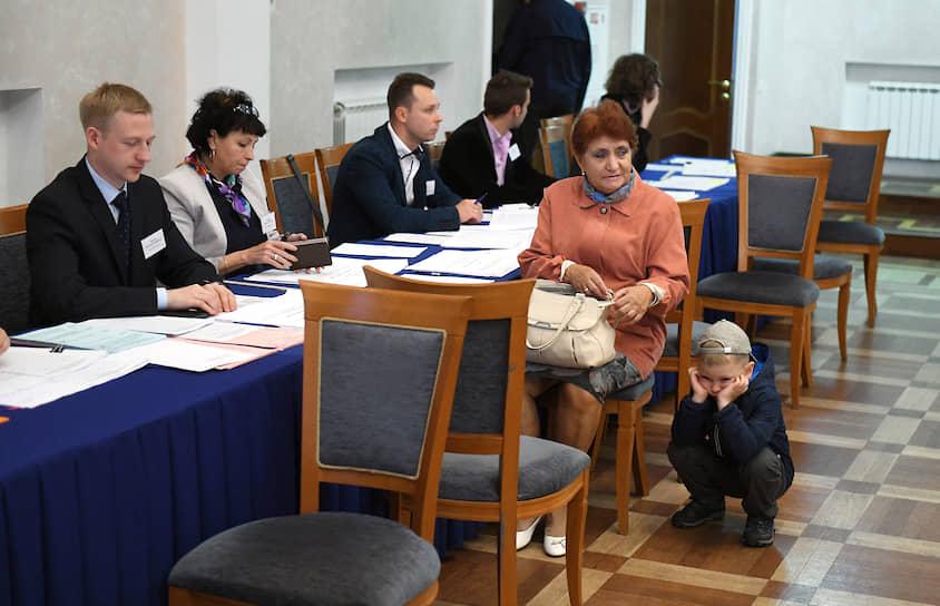 Выборы губернатора Санкт-Петербурга и муниципальных депутатов города