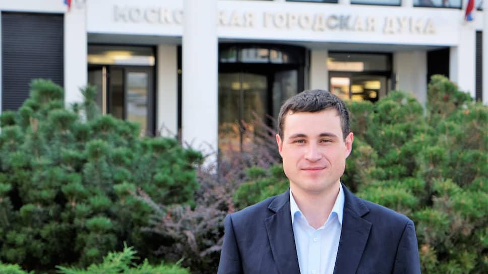 Избранный депутат Мосгордумы Александр Соловьев