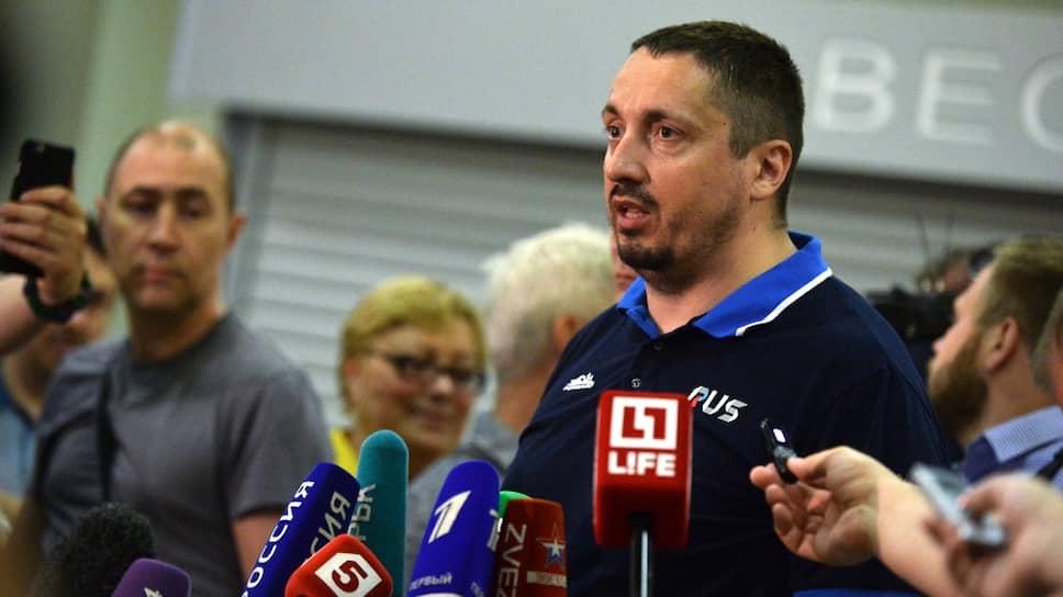 Бывший лидер российских болельщиков Александр Шпрыгин