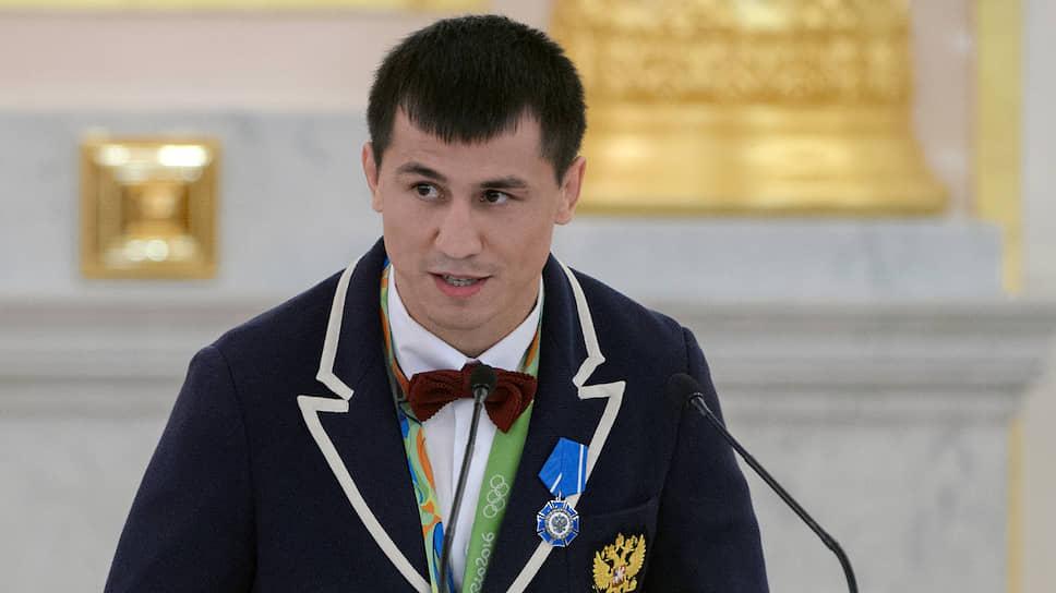 Олимпийский чемпион Роман Власов