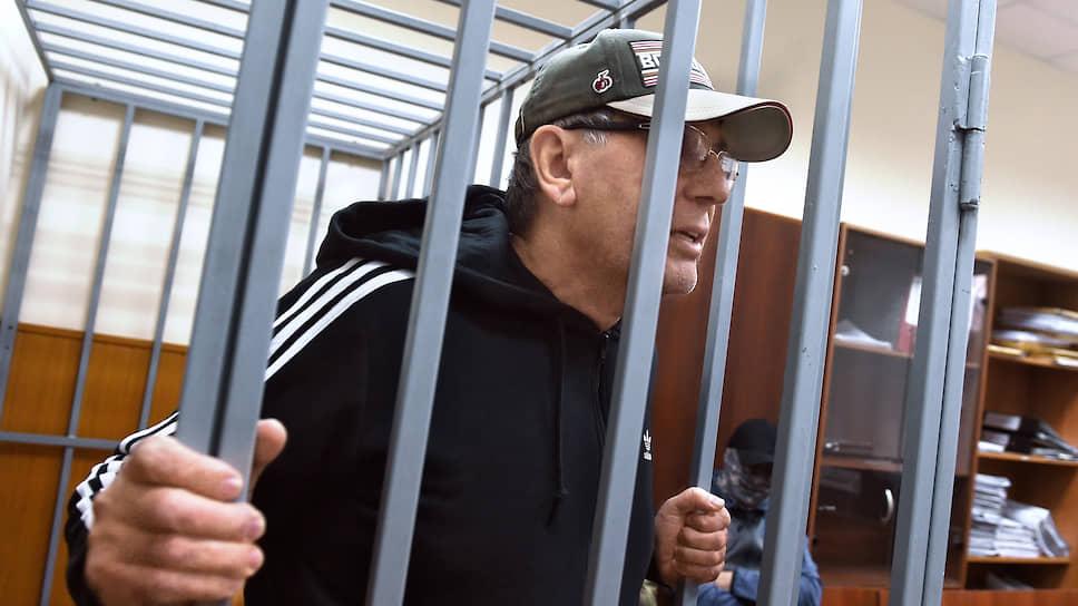 Москва. Арест адвоката Дагира Хасавова, обвиняемого в принуждении к даче ложных показаний
