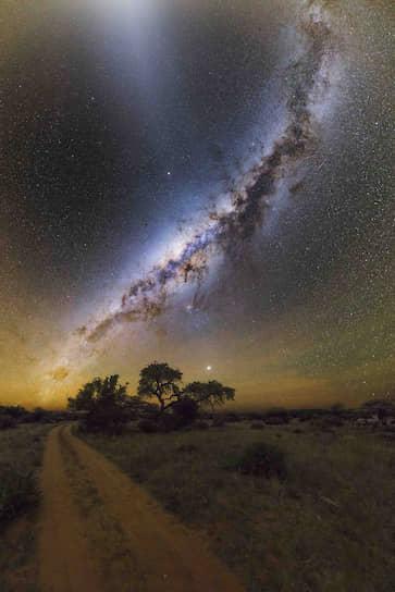 Номинация «Небесные пейзажи». Автор — Рафаэль Шмал, «Дорога к звездам»