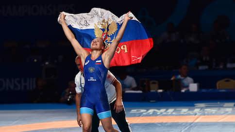 Российские женщины-борцы переломили ход истории  / Сборная завоевала на чемпионате мира в Нур-Султане пять наград