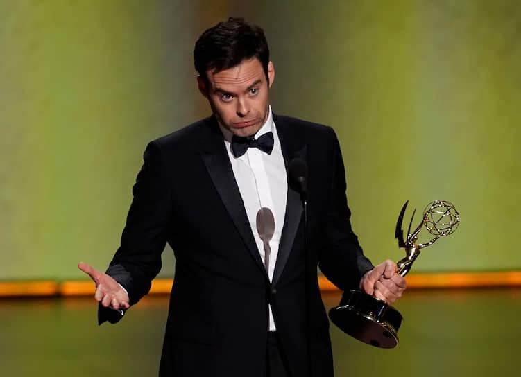 Актер Билл Хейдер получил награду в номинации «Лучший актер в комедийном сериале» за роль в «Барри»