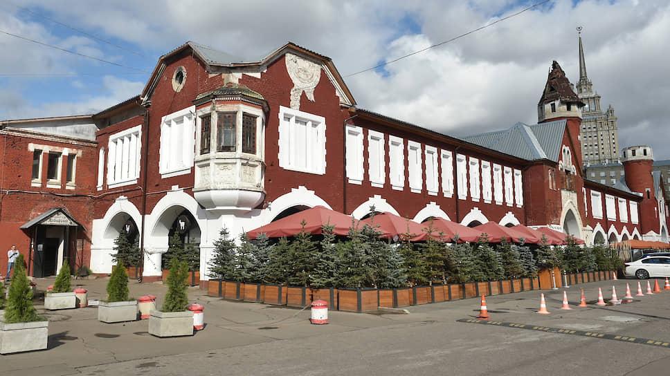 Территория Пивоваренного завода имени А.Е.Бадаева